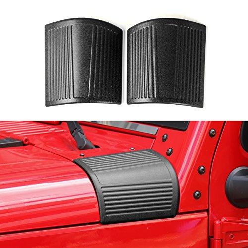 Auto Body Armor (New ABS Cowl Body Armor for Jeep Wrangler Rubicon Sahara JK & Unlimited 07-17(Black))