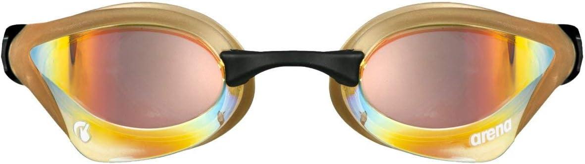 Talla /Única Yellow Copper Unisex Adulto ARENA Gafas Cobra Core Swipe Mirror Nataci/ón
