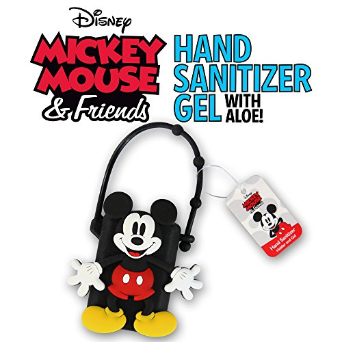 DISNEY Portable Hand Sanitizer with Holder (Mickey Mouse, 1)