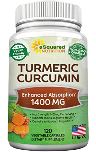 Turmeric Curcumin 1400mg Supplement Anti Inflammatory product image