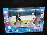 1999 NHL Starting Lineup Freeze Frame One on One - Brett Hull vs Wayne Gretzky