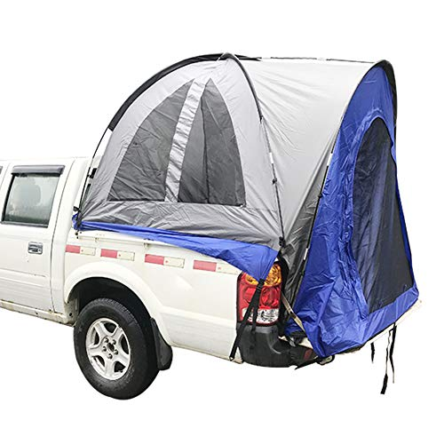 Qnlly Pickup Truck Tent Travel Camping, Waterproof and Flame Retardant Tent, Build Leisure Tent, Roof Car Tent Waterproof
