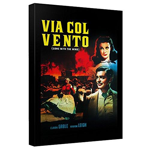 Via Col Venta–- Gone With The Wind–- STRETCHED CANVAS FRAMED artwrap 12x18 Inches TR-WBM547-ADV2-12x18の商品画像