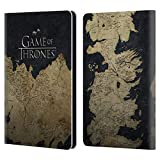 Official HBO Game of Thrones Westeros Map Key Art Leather Book Wallet Case Cover Compatible for Kindle Paperwhite 1/2 / 3
