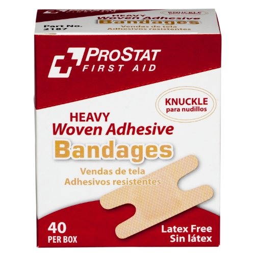 ProStat First Aid 2187 Bandage Heavy Woven Knuckle (Pack of 40)