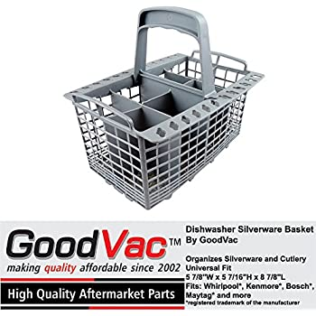 Dishwasher Silverware Cutlery Basket Universal Fit By GoodVac, Made To Fit  Kenmore, Whirlpool, Bosch, Maytag, KitchenAid, GE And More
