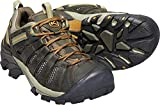 Keen Men's Voyageur Hiking Shoes, Black Olive/Inca Gold, 12 M US