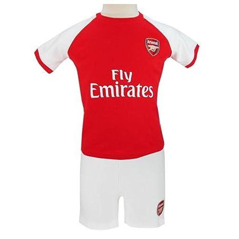 5bfa6cadd0896 Bébé Vêtements – officielle Arsenal FC bébé T-shirt et short Ensemble (9–
