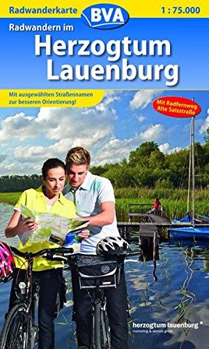 Radwanderkarte BVA Radwandern im Herzogtum Lauenburg 1:75.000 (Radwanderkarte 1:75.000)