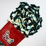 FirstChoiceCandy Blue Gummi Sharks 2 Pound Resealable Bag