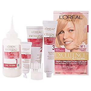 L'Oreal Paris Hair Color Excellence B Light Blonde, 250 g