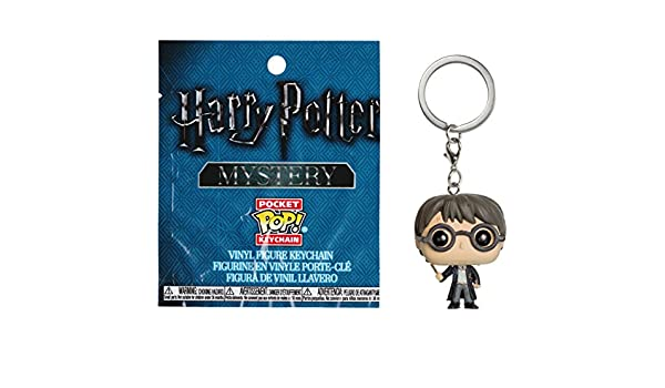 Amazon.com: Harry Potter w/ Wand: Funko Mystery Pocket POP ...