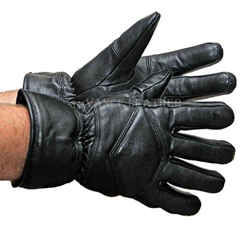 Vance Leather VL431 2XL Lined Lamb Skin Mid-Length Gauntlet Gloves, 2X-Large