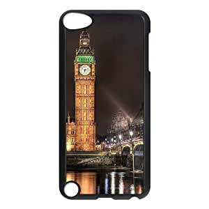Big Ben DIY Cover Case with Hard Shell Protection for Ipod Touch 5 Case lxa#233897