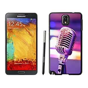 NEW Unique Custom Designed Samsung Galaxy Note 3 N900A N900V N900P N900T Phone Case With Professional Microphone Close Up_Black Phone Case
