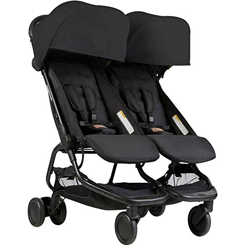 (Mountain Buggy Nano Duo Buggy, Black)