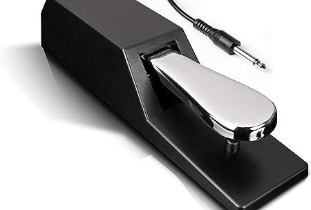 Alesis ASP-2 - Pedal Universal de Sostenido con Acción Estilo Piano para Teclados MIDI, Pianos Digitales y Mucho Más