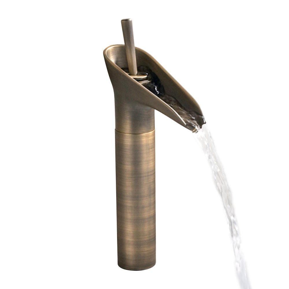 HomeLava Grifo de Lavabo Grifo Monomando Forma de Bamb/ú