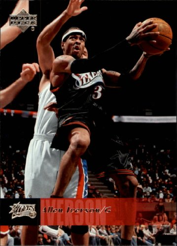 2006 Upper Deck Basketball Card (2006-07) #147 Allen Iverson Near Mint/Mint
