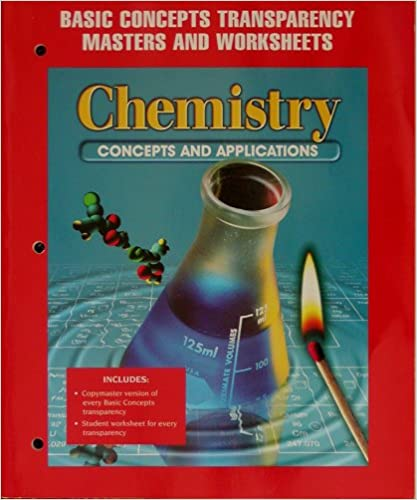 Book Chemistry Concepts and Applications - Basic Concepts Transparency Masters and Worksheets