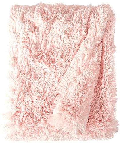 BESSIE AND BARNIE Bubble Gum Luxury Shag Ultra Plush Faux Fur Pet, Dog, Cat, Puppy Super Soft Reversible Blanket (Multiple Sizes) by BESSIE AND BARNIE (Image #2)