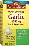 Nature Made Herbs Odorless Garlic 1250mg, 100 Tablets (Pack of 3) Review