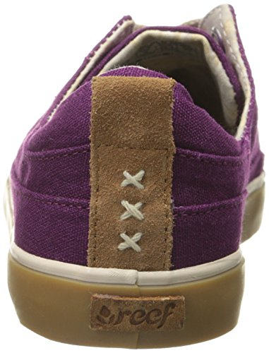 Grape Girls Sneaker Fashion Reef Women's Low Walled gOqwgP70