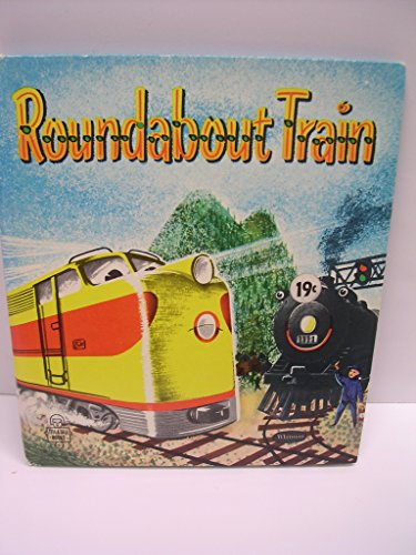 - ROUNDABOUT TRAIN Whitman Tell a Tale book #2659