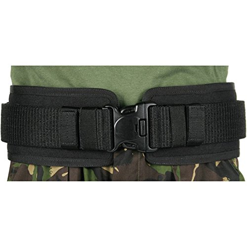 BlackHawk 41BP00BK Belt Pad, Small, 28-34, (Pistol Belt Pad)