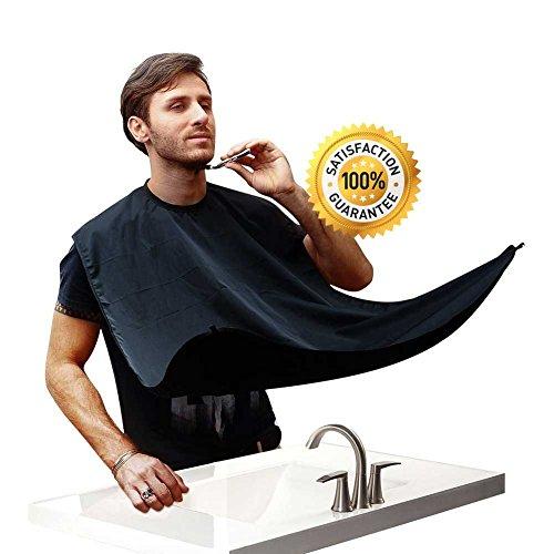 Delantal Perfecto para Juntar los Recortes de Barba   Incluye Herramientas de Diseño