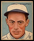 #6: Baseball MLB 1933 Goudey #196 Roy Mahaffey VG/EX Very Good/Excellent RC Rookie Athletics