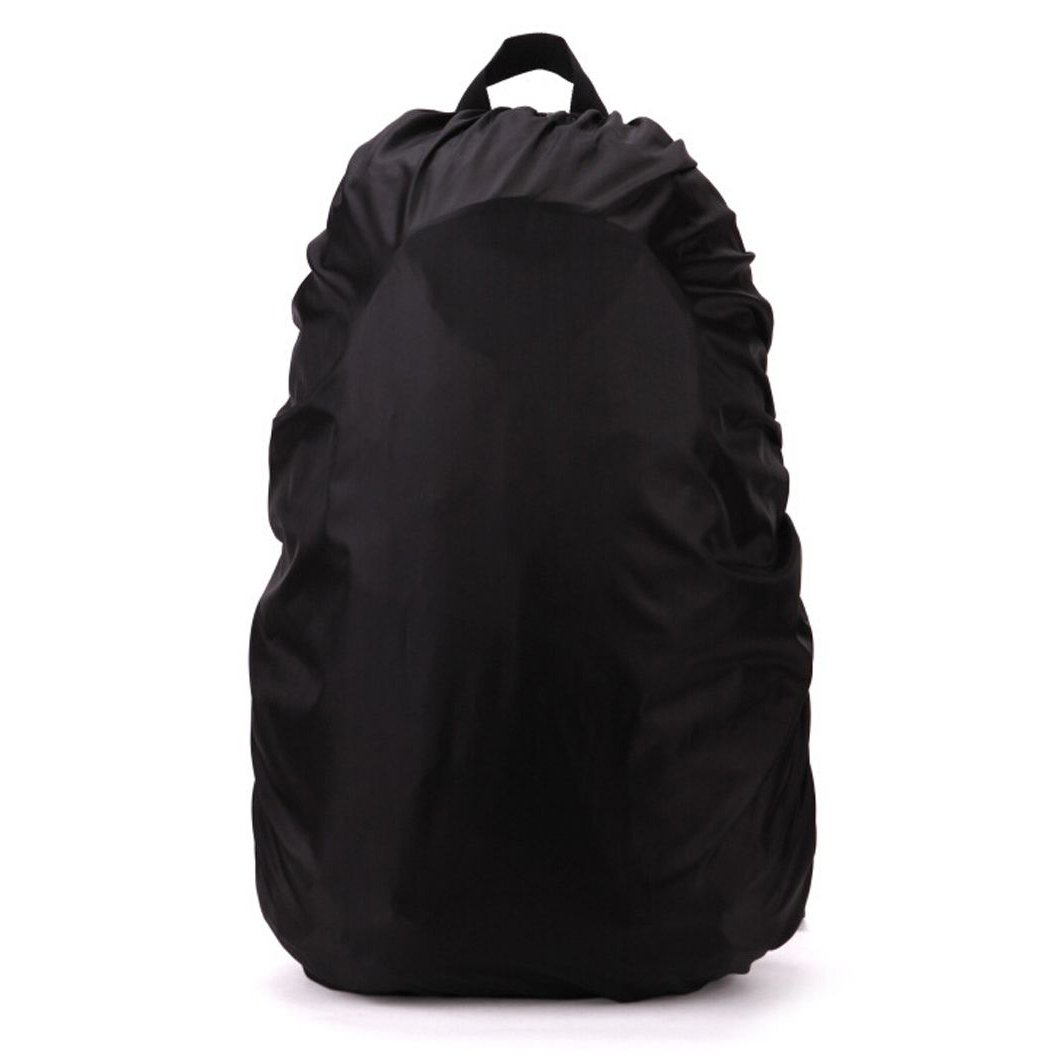 TOOGOO(R) New Waterproof Travel Hiking Accessory Backpack Camping Dust Rain Cover 70L,Black