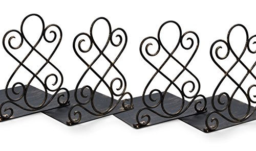 (Art Bookends in Vintage Bronze Finish (Pack of 2))
