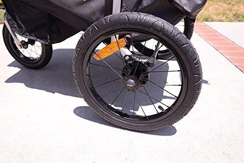 Allen Sports JTX-1 Trailer/Swivel Wheel Jogger, Green by Allen Sports (Image #10)