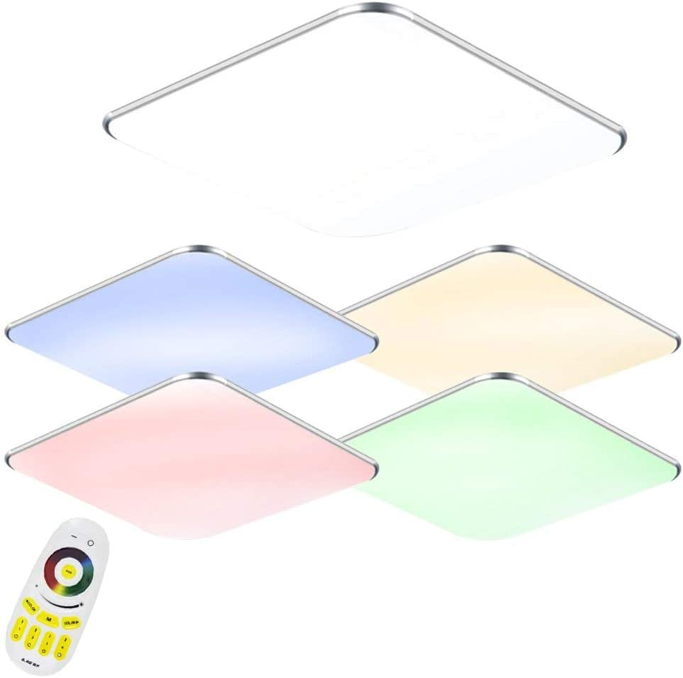 36W LED RGB Ultraslim Moderno Lámpara de techo dormitorio Cocina ...