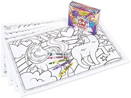 Crayola Uni Creatures Coloring 64Count Stocking product image