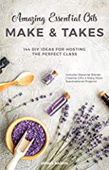 Wow your guests with these wonderfully scentsational recipesPacked with 144 seasonal blends, creative gifts and inspiring projects, Amazing Essential Oils Make & Takes will guarantee your guests leave every oils class with something fun, ...