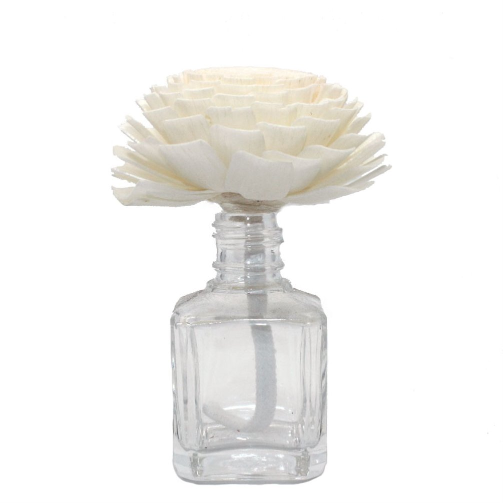 Towashine Artificial Flower with Bendable Cotton Wire Wick Decorative for Aroma Oil Diffuser Home Decoration