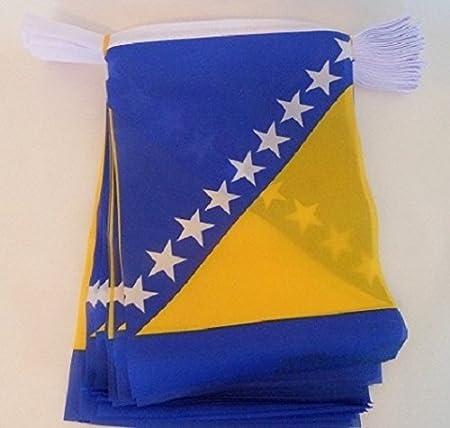 NEW BOSNIA /& HERZEGOVINA 3x5ft FLAG new superior quality fade resist us seller