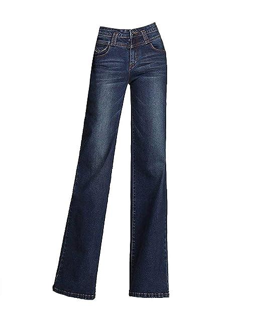 Pantalones Vaqueros para Mujer Vintage Color Pantalones ...