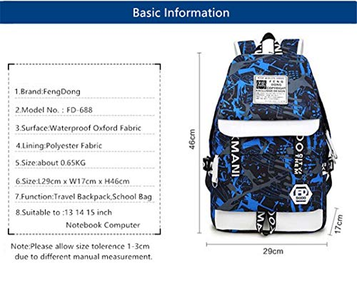 Set Boys School Bag Pencil Boys C2 Pencil 2pcs Backpack 3 Bag Bag nOFqpxqRw