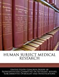 Human Subject Medical Research, , 1240457707