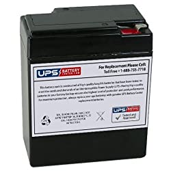 Werker WKA6-8.2F 6V 8.2Ah F1 Replacement Battery