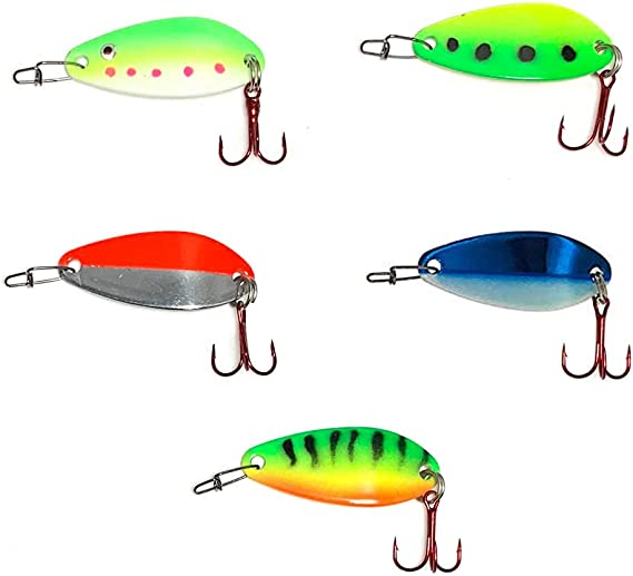 Rodio Craft CHA2 2.2 g 18 mm Assorted Colors Trout Spoon
