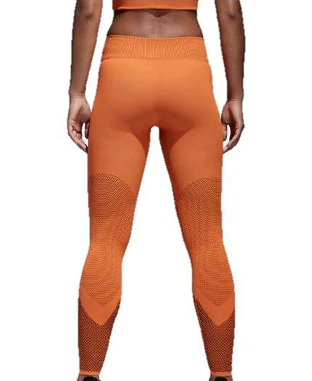 467265a0d8c84 adidas Women's CD3120 Warp Knit Tights at Amazon Women's Clothing store: