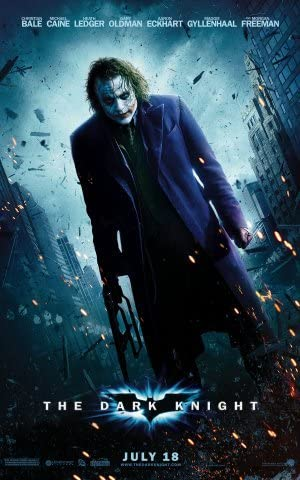 The Dark Knight Poster 24x36 inches Christian Bale Heath Ledger ...