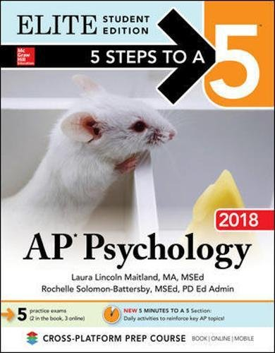 5 Steps to a 5: AP Psychology 2018, Elite Student Edition