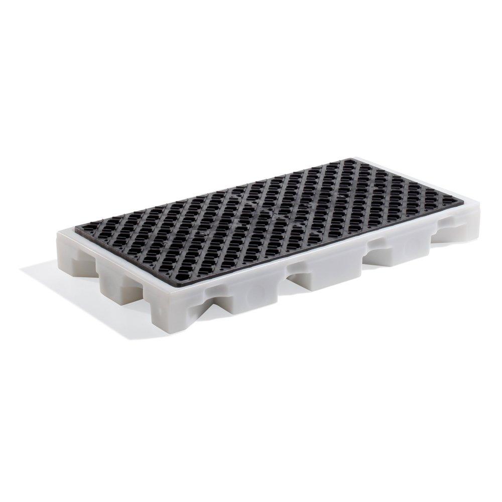 White//Black 52 Length x 26 Width x 5-3//4 Height New Pig PAK565 LDPE Drip Deck 3000 lbs Load Capacity