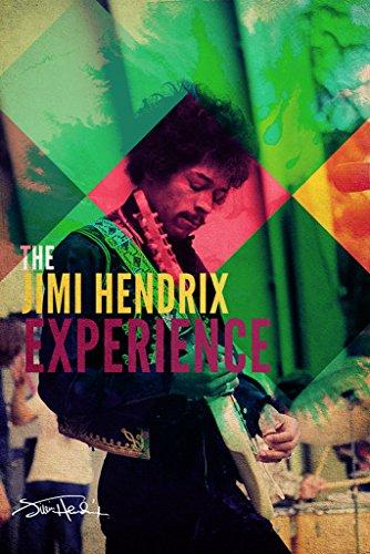 Pyramid America Jimi Hendrix The Experience Music Poster 24x
