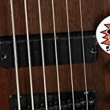Ibanez GSR 6 String Bass Guitar, Right, Walnut Flat